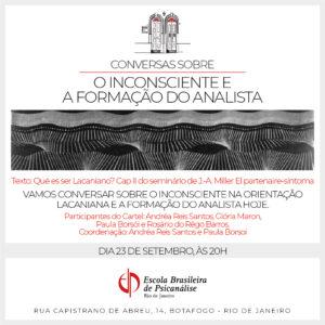 Conversas sobre sobre o inconsciente e a formação do analista_Prancheta 1