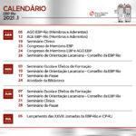 Calendário Seminários 1 semestre-01